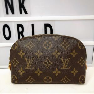 Louis Vuitton Small Cosmetic Pouch Bag Monogram